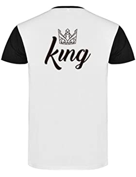 Camisetas King and Queen para parejas
