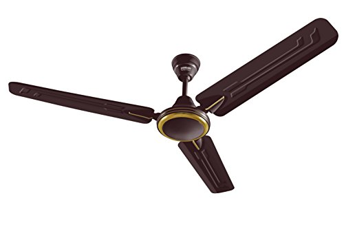 Eveready Super Fab M 1200mm High Speed 3 Blades Ceiling Fan (Brown)