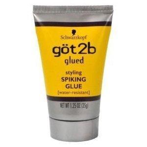 Schwarzkopf GOT2B GLUED SPIKING GLUE 1.25 oz. TRAVEL SIZE by Got2b (Spiking Glue)