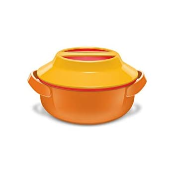 Milton Microwow 1000 Insulated Casserole, 820 ml, Orange