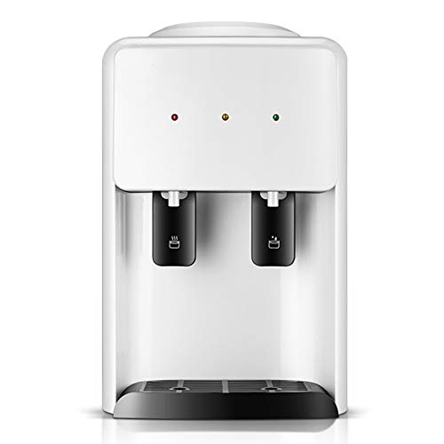 YANGMAN-WD Wasserspender Aufsatz-Wassermaschine, warmes und warmes Wasser, perfekt für Büros, Besprechungsräume, Empfangsbereiche und Küchen, 25 x 32 x 38 cm, Weiß