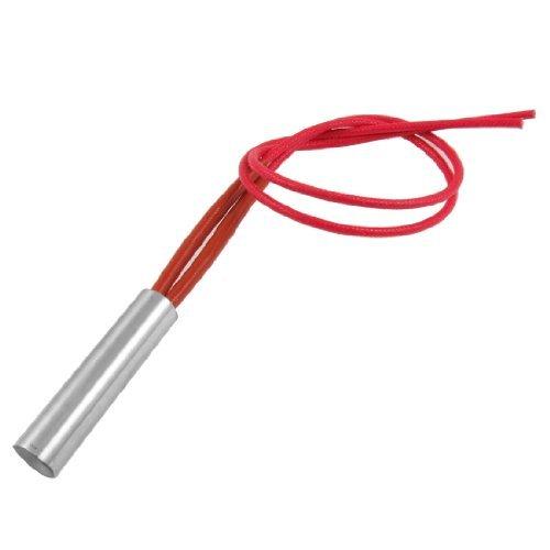 Red 2-Draht 12mm x 50mm Einseitig Mould Heizpatrone AC 380V 150W