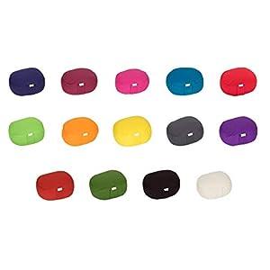 Yogilino® Reise Meditationskissen/Yogakissen Mini oval