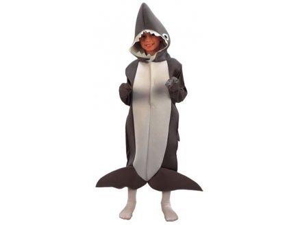 Haifisch-Kostüm für Kinder - 4 bis 6 Jahre