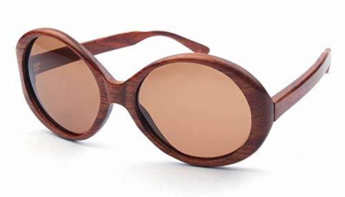 Sonnenbrillen Mode Persönlichkeit große ovale frauen holz sonnenbrille handgefertigt hochwertige polarisierte tac objektiv uv-schutz übergroßen fahren urlaub angeln strand sonnenbrille im freien.