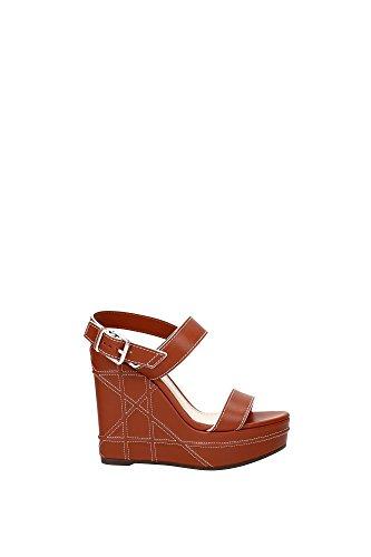 compensee-christian-dior-femme-cuir-marron-et-blanc-kce886ctss11m-marron-clair-39eu