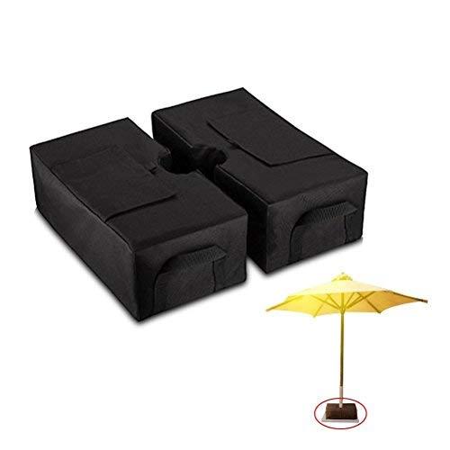 Firelong Abnehmbare Schirmständer, Große Öffnung für Sand, befüllbare Schirmständer Halter für Outdoor Terrasse Schirme Oder Fahnenstangen, 18in × 45,7× 3.9in, 900D Oxford Stoff