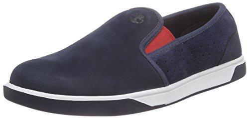 Timberland Groveton_Groveton Slip On, Sneakers basses mixte enfant Bleu (Navy)