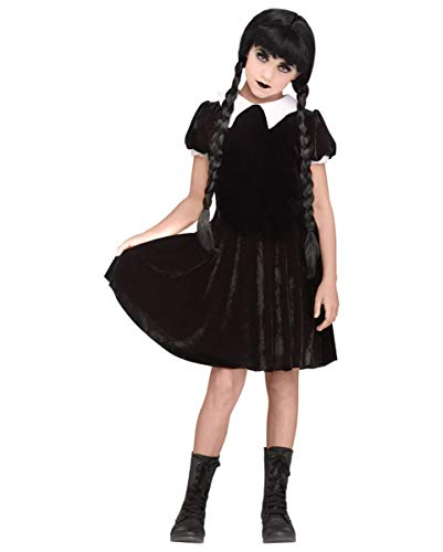 Horror-Shop Wednesday Gothic-Puppe Kostüm M