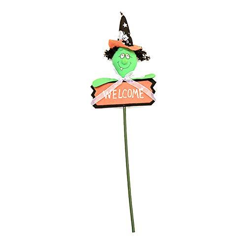 TOPFAY Halloween, A Cane Hexe Neues Kleid Party Stil Große dekorative Objekte, Spielen täuschen Sie vor, Prinzessin, Halloween, Kostüm, Party-Bevorzugungen, Geschenke und vieles mehr (A Witch Style)