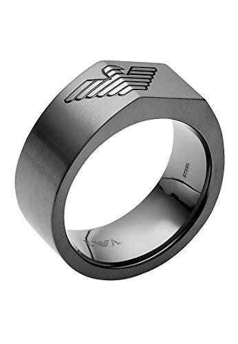 Emporio Armani Herren-Ringe Edelstahl mit \'- Ringgröße 64 EGS2642060-11