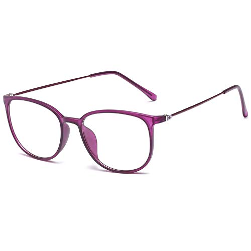 VEVISTARS Klassische Retro Nerdbrille Damen Herren Brille Ohne Sehstärke Federscharnier...