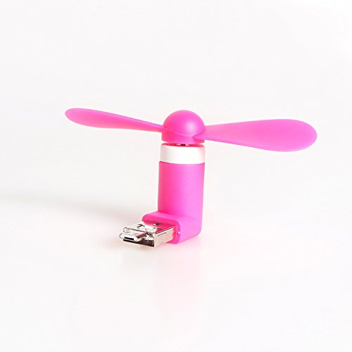 WWIN Mini Portable USB Fan für Android Apple iPhone Combo Cell Phone leptop Tablet PC Mobile Dock Fan