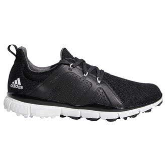 adidas - Scarpe da Golf da Donna Climacool Cage da Golf, vestibilità Regolare, Colore: Nero/Bianco/Grigio