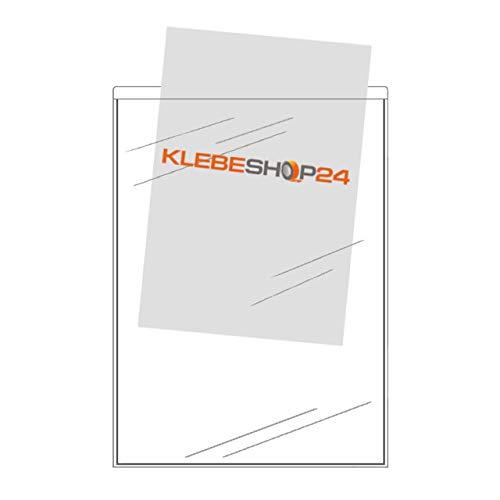 Buste trasparenti autoadesive, formato A4, A5, A6o A7, lato stretto aperto, 20o 100pezzi, buste trasparenti da incollare, tasche rettangoli per documenti, brochure, volantini, foto