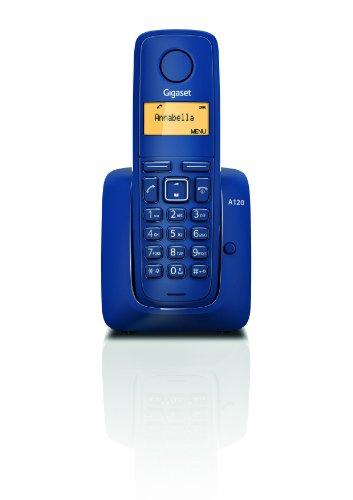 Gigaset A120 Teléfono inalámbrico, azul