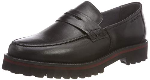 Marc O'Polo Damen Loafer Mokassin, Schwarz (Black 990), 36 EU