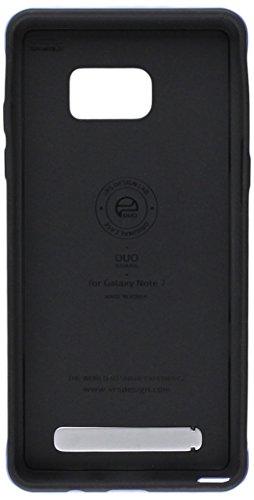 Galaxy Note 7Funda, VRS diseño [Duo Protector] [Coral azul]–[Drop Protección] [Slim Fit] [función atril] para Samsung Note 7