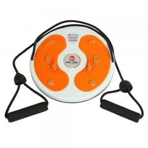 Body Fitness Massage Round Waist Twister Disc Orange