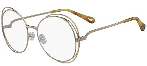 Brillen Chloé CARLINA CE2138 GOLD Damenbrillen