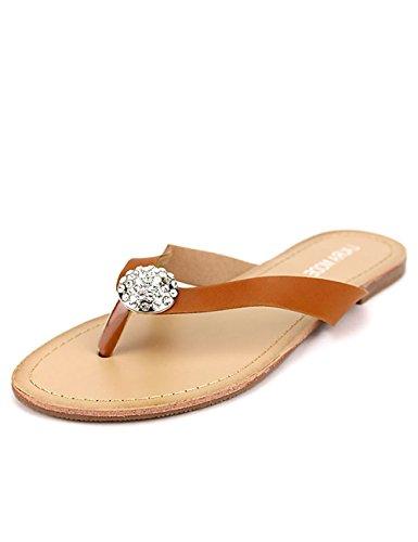 Cendriyon, Tong Caramel Laura Mode Chaussures Femme