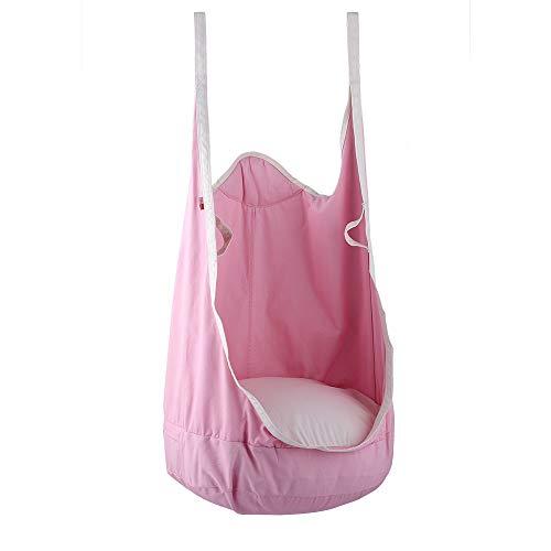 Eggdel rana appesa pod swing seat indoor e outdoor amaca per bambini da adulto pink