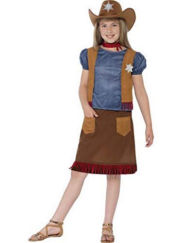 Luxuspiraten Madchen Kinder Western Cowboy Cowgirl Kostum Mit