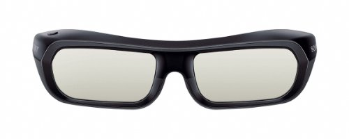 Sony TDG-BR250B 3D-Active Shutter Brille (Bügel, USB 2.0) schwarz