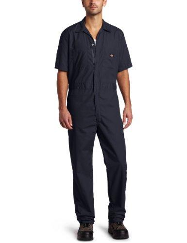 Dickies-Pantaloni da lavoro manica corta popeline maglietta Dark Navy M x Regolare