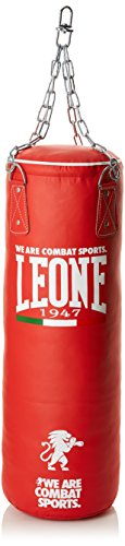 Leone 1947 Basic Sacco Allenamento, Unisex adulto, Rosso, 20 Kg