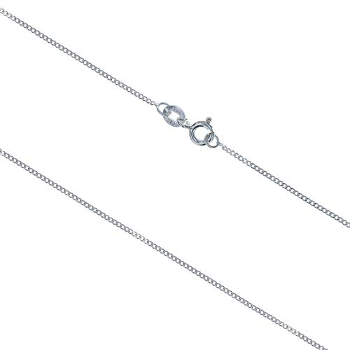 CL4075 - THE OLIVIA COLLECTION Sterling Silber Panzerkette 45-46cm lang und 1,4g schwer