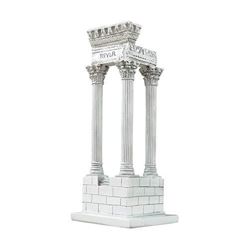 ZLBYB Antike römische Statue, Antike römische architektonische Ornamente Desktop Handwerk Ornamente Ornamente (Kamin-zubehör Antike)