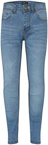 A2Z 4 Kids Bambini Ragazzi Skinny Jeans Progettista Denim Elastico Pantaloni Moda Fit Pantaloni Nuova Etá 5 6