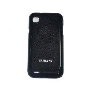 Samsung I9001 Galaxy S Plus Akku Deckel Schale Cover Gehäuse Original Neu black