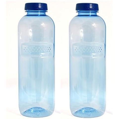 Greiner - 2 borracce da 1 l l'una, per acqua filtrata