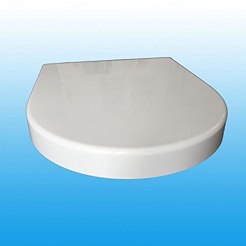 WC-Sitz badosan für Duravit Starck 2 / 3 mit Absenkautomatik SoftClose Edelstahlscharnier