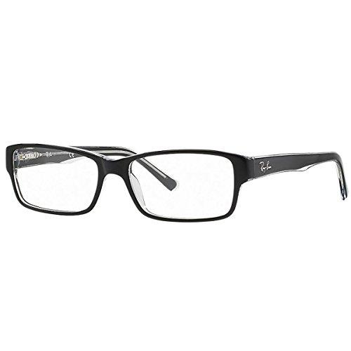 ray-ban-brillengestell-rx5169-2034-54-16-schwarz-transparent