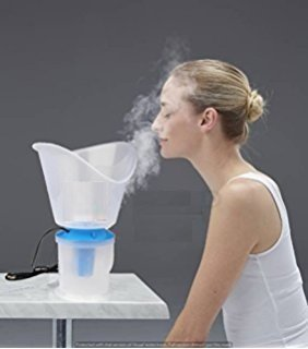 First 4 Dr. Yes Brand Vaporiser And Nose Steamer 3-In-1 Steam & Inhaler! Compact Size  available at amazon for Rs.299