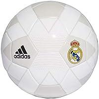 Adidas Real Madrid - Balón de fútbol para Hombre, Color Crema, Blanco, Gris, Negro
