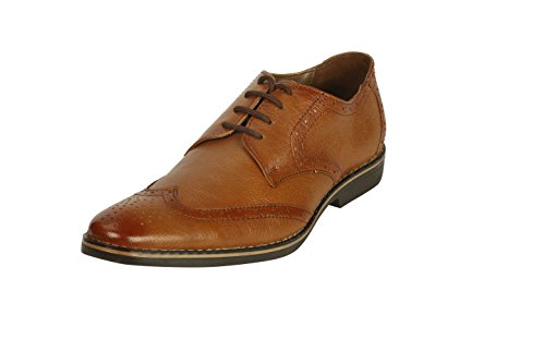 Bacca Bucci Men Tan Leather Formal Shoes 10 Uk