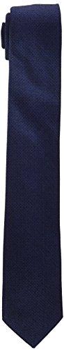 Calvin Klein K30K300855411001, Corbata para Hombre, Azul (Navy), One Size (Tamaño del Fabricante:OS)