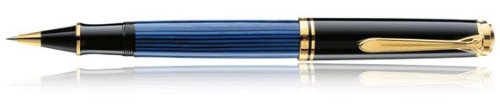 Pelikan Tintenroller Luxus Souverän R400–Schwarz/blue-p R400 schwarz/blau