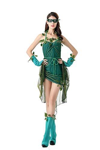 Kostüm Elf Wald - Aida Bz Halloween Kostüm Green Elf Kostüm Wald Baum Dämon Göttin Kostüm,Green,OneSize