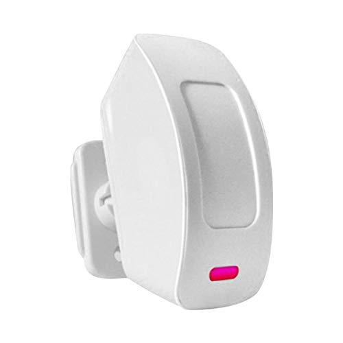 SUPERLOVE Sensor De Infrarrojos De Alarma De Detector De Movimiento De Seguridad Inalámbrico para Interiores En El Hogar
