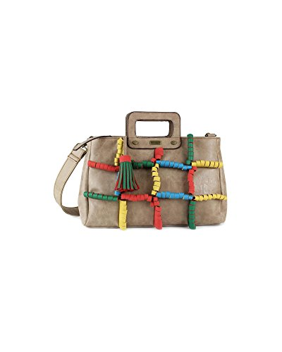 TANTREND borsa a mano tipo africana Verde