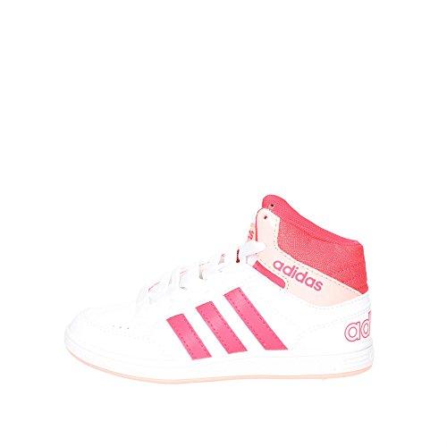 Adidas B74658 Sneakers Garçon Blanc/Noir
