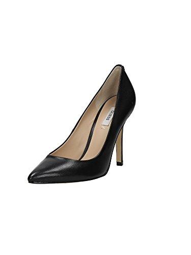 Guess Spaltung Damen Schuhe Plasmia Pumpo Heel Cm 10,5 Leather Black