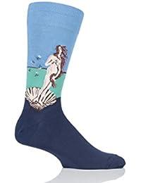 Herren 1 Paar HotSox Artist Collection Geburt der Venus Socken aus Baumwolle
