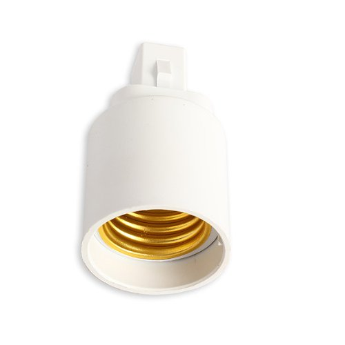 Rrimin New G24 To E27 Socket Base LED Halogen CFL Light Bulb Lamp Adapter Converter Holder Best