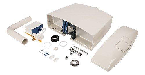 Spülkasten Karat | Kunststoff | 2 Mengen Spültechnik | 3,5 Liter oder 6 - 9 Liter | Tiefspülkasten | WC, Toilette | Pergamon